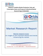 2018-2023 Global and Regional IoT Analytics Industry Production, Sales and Consumption Status and Prospects Professional