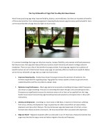 The Top 10 Benefits of Yoga That You May Not Have Known