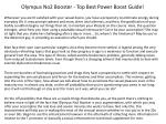 What Makes A Best Power Boost?