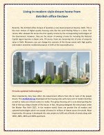 Living in modern style dream home from Antriksh office Enclave