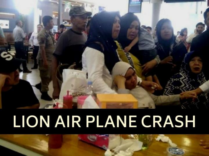 Lion Air plane crashes in Indonesia