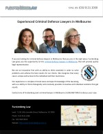 Experienced Criminal Defence Lawyers in Melbourne