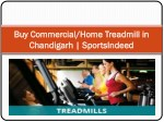 Buy Commercial & Home Treadmill Gym Equipments | SportsIndeed