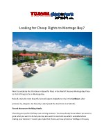 Cheap Flights from Montego Bay to London from UK