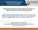 Global Powered Surgical Instruments Market is Growing at a Significant Rate in the Forecast Period 2018-2025