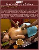 Heal Yourself Through Ayurveda