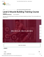 Level 2 Muscle Building Training Course - Alpha Academy