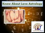 Get To Know About Love Astrology