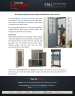 Get Custom Security Screen Doors Installed from You're Secure