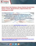 Global Smart Soil Moisture Sensor Market Growth Rate, Future Trends, Market Drivers, Opportunities and Challenges by 202