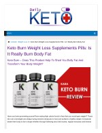 Who Recommends The Utilization Of Keto burn?