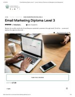 Email Marketing Diploma Level 3 - LIBM