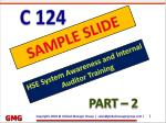 ISO 14001, ISO 45001 auditor training ppt