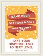 Keep continue pouring of beer with Fob Draft System & Save Beer