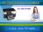 Hp printer Support number  Call 1844-797-8962