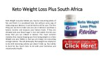 Keto Weight Loss Plus South Africa