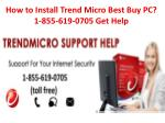 How to Install Trend Micro Best Buy PC? 1-855-619-0705 Get Help