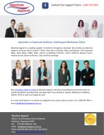 Specialists in Corporate Uniforms, Clothing and Workwear Online