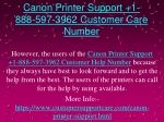 1-888-597-3962 Canon Printer Tech Support Phone Number