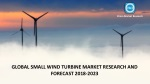 Global Small Wind Turbine Market Research and Forecast, 2018-2023