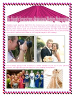 The Friendly Service from a Professional Wedding Photographer
