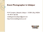 Event Photographer in Udaipur