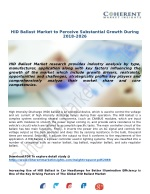 HID Ballast Market to Perceive Substantial Growth During 2018–2026