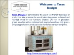 Taran Designs - Best Furniture Store in Farmers Branch,TX