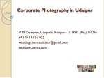 Corporate Photography in Udaipur