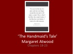 'The Handmaid's Tale' Margaret Atwood