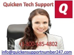 Quicken Support Number |call@ 1-(800)-685-4802