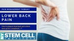 Lower Back Pain treatment | Pain Management NYC