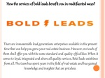 How the services of bold leads benefit you in multifaceted ways?