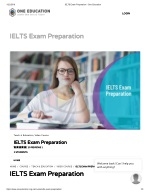 Ielts exam preparation - One Education