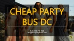 Getting the Most Out of Your Country Wedding with a Transport Service-Cheap Party Bus DC