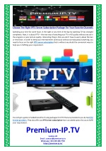 Choose The Right IPTV Server Subscription Package For Your Favorite Channels