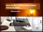 How to Buy Online Home Decor Items in India
