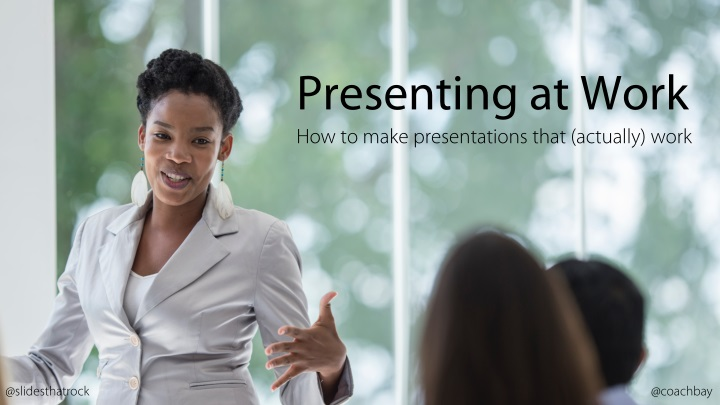 presenting at work how to make presentations that n.
