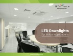 Led Downlight for Indoor Application – USA
