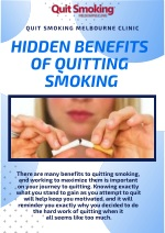 Know The Secret Benefits Of Quit Smoking In Melbourne