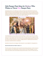 Girls Pamper Party Ideas for Mothers Who Wishes to Throw Pink Pamper Party -Pamper PartyCo