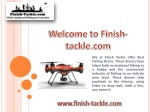 Get The Best Fishing Drone At Finish-Tackle.Com