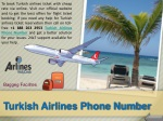 Quickly Book Your Flight Ticket with Turkish Airlines Phone Number