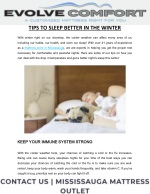 Tips To Sleep Better In The Winter