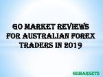Go Market Reviews For Australian Forex Traders In 2019