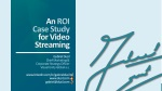 OTT & Multiscreen • Web Seminar • #7 • An ROI Case Study for Video Streaming