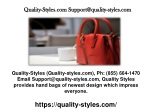 Quality-Styles High Quality Bags
