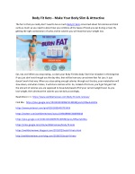 Body Fit Keto - Is Weight Loss Pill Really Help Fight Obesity