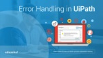 Error Handling In UiPath | Debugging & Exception Handling In UiPath | RPA Training | Edureka