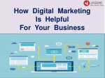 How Digital Marketing is Helpful For Your Business